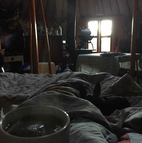 Groovy Yurts interior
