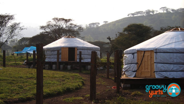 Groovy Yurt village Mexico